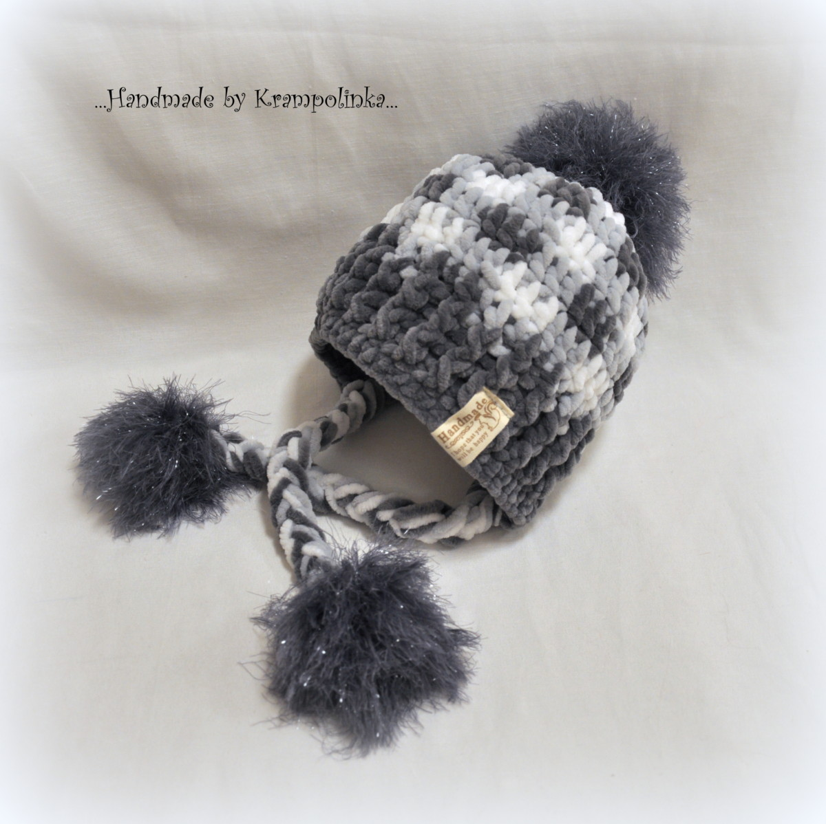 Plaid beanie called Coolishanka. Pattern included – Krampolinka 56f13785355